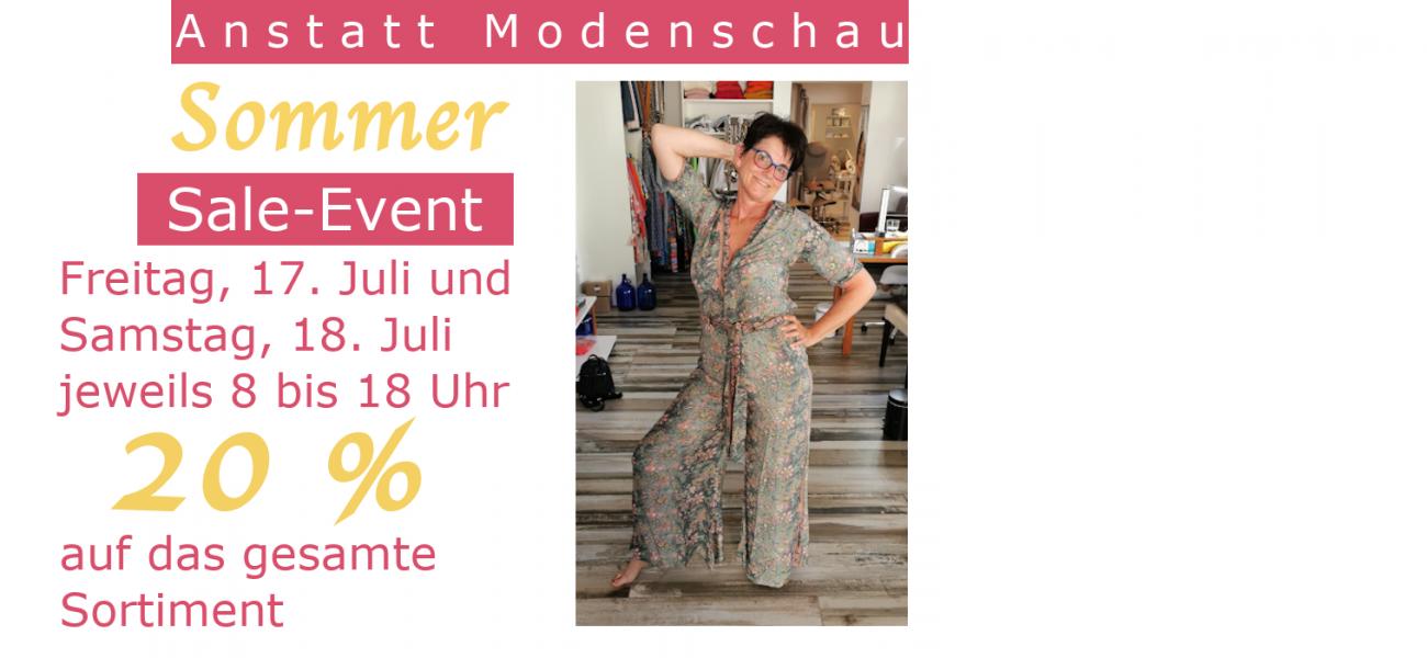 Sommer Sale-Event 17. und 18. Juli