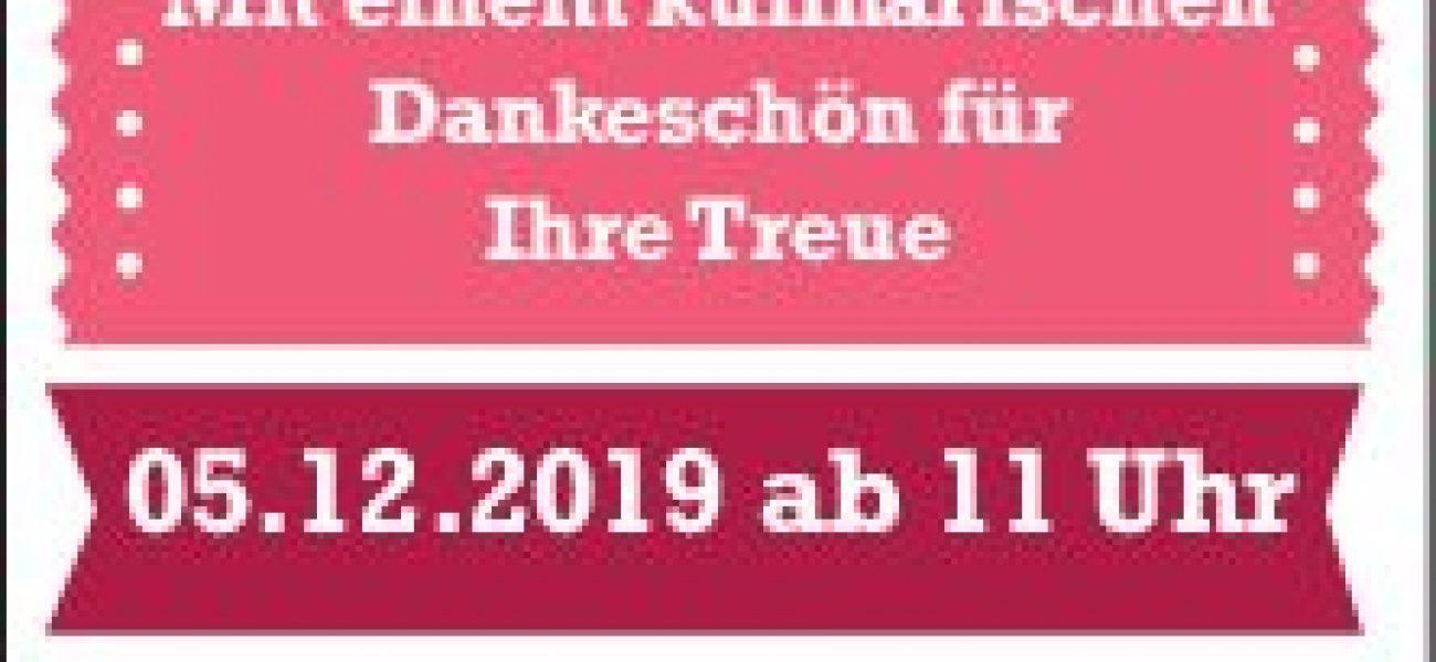 Nikolaus-PARTY 05.12.2019 ab 11:00