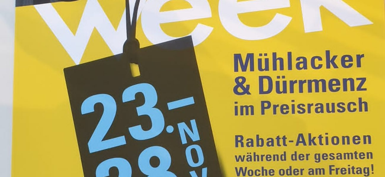 Black Friday am 27. November        ***   Die  Rabatt-Aktion! ***